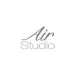 Air studio logo en visualiza