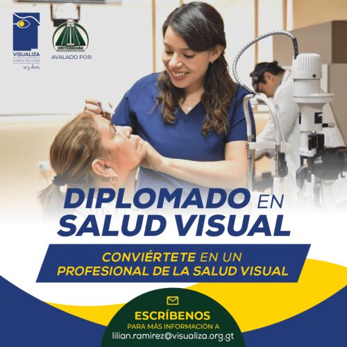 imagen sobre la inscripción a nuestro diplomado salud visual ciclo 2021