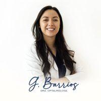 Dra Gabriela Barrios especialidad oftalmología
