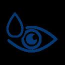 imagen ojo y lagrima logotipo